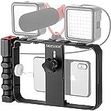 Neewer Smartphone Video Rig, Cassa per Cinematografia, Stabilizzatore per Smartphone Video, Treppiedi e Impugnatura per…