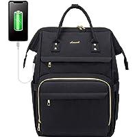 LOVEVOOK Rucksack Damen mit Laptopfach 17 Zoll, Wasserdicht Schulrucksack, Business Reise Laptop Rucksäcke Tasche mit…