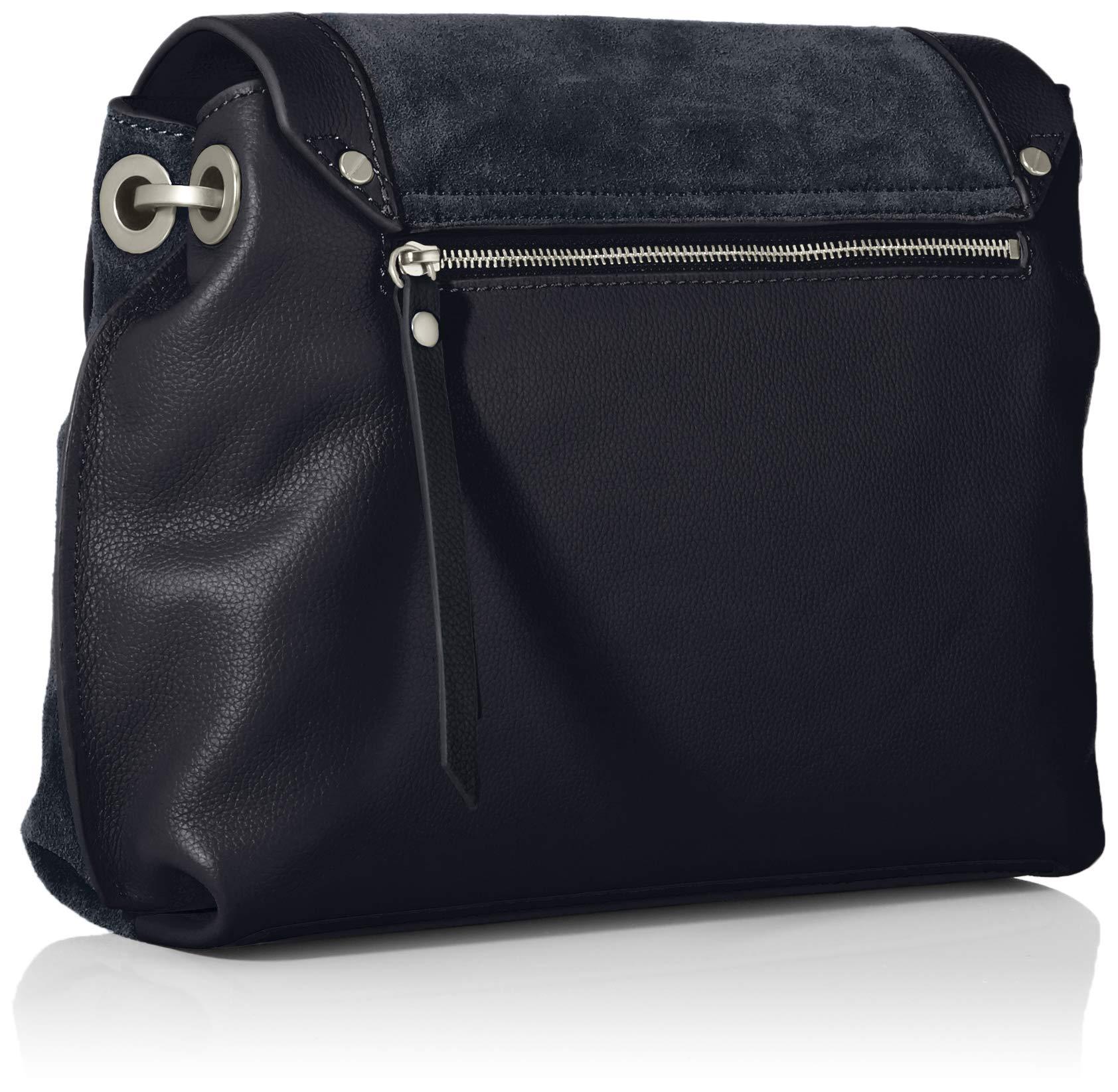 Liebeskind Scouri 2 Leder Handtasche, Schwarz