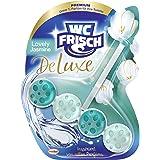 WC Frisch DeLuxe Lovely Jasmijn, wc-reiniger en wc-geurspoeler, 1 stuks, parfum voor het toilet