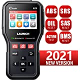 LAUNCH CR629 Scan Tool ABS SRS OBD2 Scanner Car Code Reader with Active Test, Oil/SAS/BMS Reset, Full OBD2 Functions, PC Prin