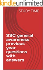 SSC general awareness previous year questions with answers