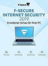 F-Secure Internet Security 2019 - 3 Jahre / 1 PC für PC [Online Code]