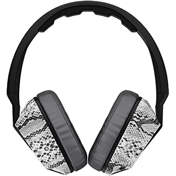 Skullcandy SGSCFY-103 Crusher Eric Coston Headphone with Built-In Amplifier And Mic (Koston Snake)