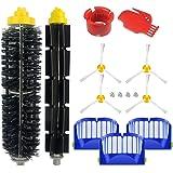 Kit Accessoires adaptés à la roomba série 600 605 610 614 616 620 621 625 630 635 640 650 660 665 670 671 676 680 681 690 691 695-15 pièces