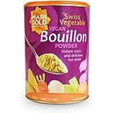 Marigold 2 x Foods Swiss Vegetable Bouillon Reduced Salt Family, 500g
