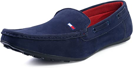 Red Rose Men's Blue/Brown/Black Stylish Loafer Shoes