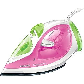 Philips GC2045/40 EasySpeed Steam Iron, 270 ml, 2300 Watt - Pink/ Green