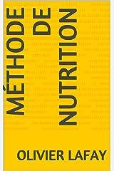 Méthode de Nutrition (French Edition) Formato Kindle