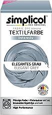 Simplicol Textilfarbe Intensiv, Einfaches Textilfärben in der Waschmaschine, Komplettpackung mit Färbemittel und Fixierpulver