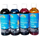Gocolor Premium Korean Quality Brother Compatible Inkjet Ink 100 ml x 4 Colours  Dye Ink  Best