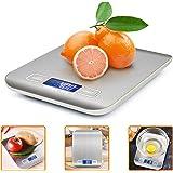 iKALULA Bilancia da Cucina Digitale, Alta Precisione Misurazione 1g a 5kg Bilancia Digitale LCD Display Multifunzionale Bilan