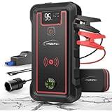 YABER Avviatore Batteria Auto, 2500A 23800mAh Avviatore Emergenza per Auto (Adatto a Tutti i Veicoli a Benzina o 8.0L…