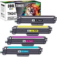 Cool Toner Compatible TN-243CMYK TN247 TN-247 TN243 Cartouches de Toner pour Brother MFC-L3750CDW DCP-L3550CDW MFC…
