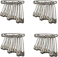 Heirloom Quality Standard Safety Pins for Girls and Women Set of 40