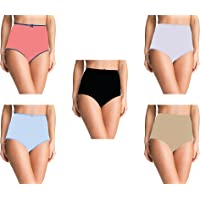 Pepperika Women's High Waist 100% Cotton Brief Underwear Hipster Full Coverage Maternity Pregnancy C-Section Recovery…