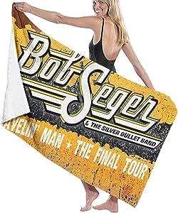 Candi-Shop Serviette De Bain Depeche Mode pour Home Beach Spa Sauna Hammam Yoga Gym