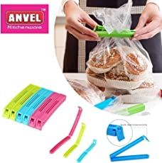 ANVEL Plastic Bag Sealer - 36 Pcs Sealing Clip - 3 Different Sizes - EXPORT QUALITY - ABS Material - Poly Carbonate Unbreakable - Long Lasting - Pouch Clip Sealer - Keep Your Food Fresh - Directly From Manufacturer - Made in India