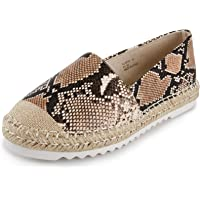 Alexis Leroy pour Femmes Décontractée Plat Loafers Chaussures Mode Confort Espadrilles