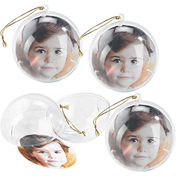20 st ck acrylkugeln weihnachtskugeln transparente weihnachtskugeln als saisonal deko - Weihnachtskugeln durchsichtig ...