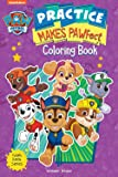 Practice Makes PAWfect: Paw Patrol Giant Coloring Book For Kids