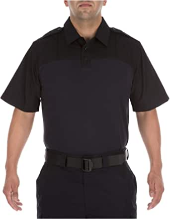 5.11 Tactical Men's Taclite Short Sleeve Polo Shirt, Moisture Wicking Polyester, Style 71046