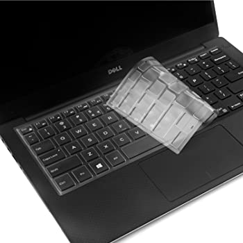"CaseBuy® Ultra Thin TPU Clear Transparent Keyboard Protector Cover Skin for Dell Inspiron 13-7347 13-7348 13-7352 13-7353 13-7359 15-7547 15-7548, XPS 13-9343 13-9350 13.3"" Laptop(2015 Model)"