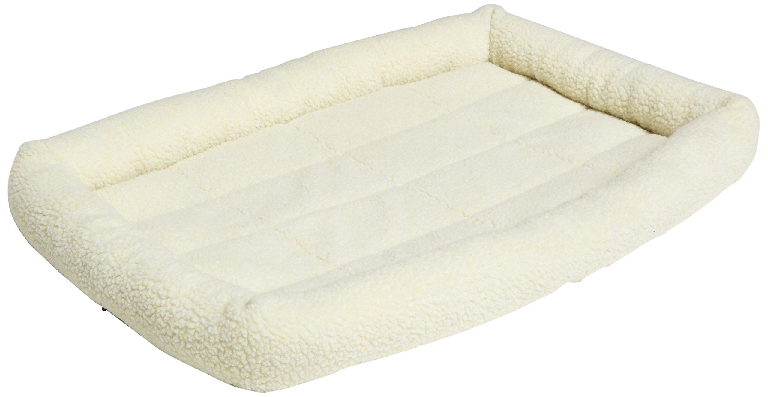 AmazonBasics-Padded-Pet-Bolster-Bed-MediumLarge
