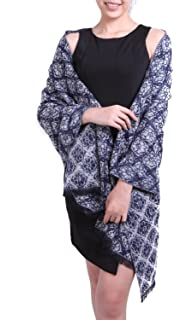 7af728417f5 écharpe hiver femme foulard grande taille châle cache-col réversible franges  à fleurs - plusieurs