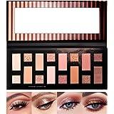ONLYOILY 16 Farben Makeup Nude Lidschatten Palette,Fachmann matt schimmernde Lidschatten Palette,Wasserdicht Lange andauernd