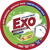 Exo Round Dish Wash Bar, 500g Box with free scrubber