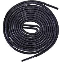 Round Waxed Shoelaces-For Oxford Shoes Round Dress Shoes Boots Leather Shoe Laces,2.5mm Width,80-100cm Length.…