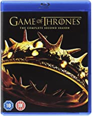 Game of Thrones: The Complete Season 2 (5-Disc Box Set) (Region Free + Slipcase Packaging + Fully Packaged Import)