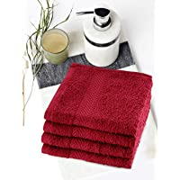 BIANCA 100% Cotton Egyption Face Towel (Set of 4)