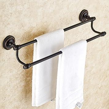 Handtuchständer handtuchstange Bad American Handtuchhalter Schwarz ...