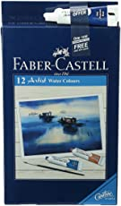 Faber-Castell Artist Water Color - Pack of 12 (Assorted)