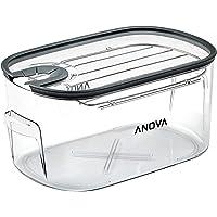 Anova Culinary | Bac et couvercle pour cuisson sous vide | Capacité de 16l | Couvercle et support amovible