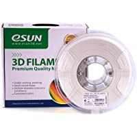 eSun 1.75mm PLA+ 3D Printer White Filament 1KG Spool