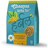 Chaayos Chamomile Tea   Pure Whole Flower Buds   Sleep Tea   Herbal Tea   Caffeine Free (50 g)