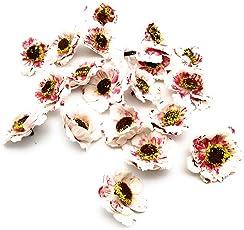Satyam Kraft Colourful Artificial Foam Mullberry Flower New : 20 pcs Flower