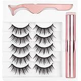 Magneet Valse Wimpers Langdurige Magnetische Vloeibare Eyeliner Pincet Wimper Make-up Tool Set Cosmetische Tool voor Schoonhe
