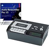 auvisio Kassettenplayer: USB-Kassetten-Player UCR-2200 zum Abspielen & Digitalisieren (Cassetten digitalisieren)