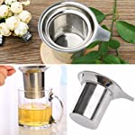 Rrimin Stainless Steel Mesh Tea Infuser Reusable Strainer Loose Tea Leaf Filter
