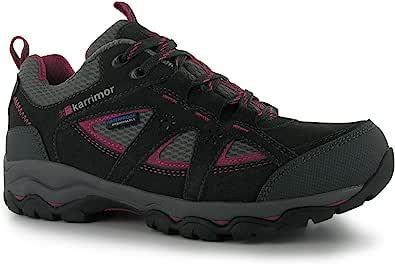 Karrimor Womens Mount Low Walking Shoes Waterproof Lace Up