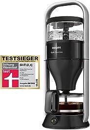 Philips HD5408/20 Cafe Gourmet Filter-Kaffeemaschine, Direkt-Brühprinzip, schwarz / edelstahl