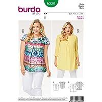 Burda 6550 Patron de couture pour femme en 2 longueurs Tailles 58-34