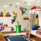 Super Mario Cartoon Muurstickers