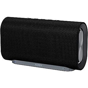 AUKEY Altoparlante Bluetooth 4.2 con 20W Driver, 12 Ore di Utilizzo e Superficia in Tessuto per iPhone, iPad, Echo DOT, Samsung, Android Cellulari e Altri Dispositivi