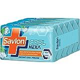 Savlon Cool Hexa Soap, 125 g (Pack of 5)