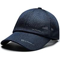 VoilaLove Unisex Baseball Cap Quick Dry Airy Mesh Outdoor UV Protection Sun Hats Sports Caps for Golf Cycling Running…